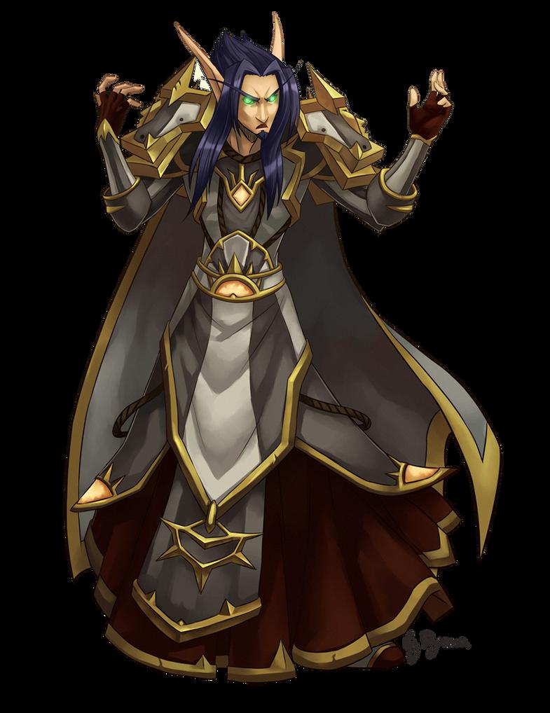WoW: Slay the Priest by ryumo