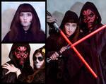 Star Wars Sith Halloween Makeup