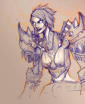 WoW: Vivianne sketch