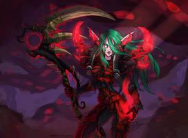WoW: Tallissia the Druid by ryumo