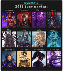 2018 Summary of Art by ryumo