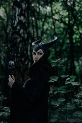 Maleficent Cosplay