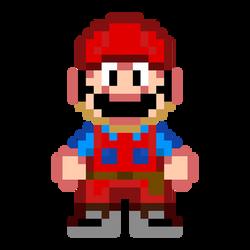 Super Mario Bros Movie Sprite: Mario by xxX-n-a-t-e-Xxx