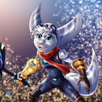 Ratchet and Clank - Female Lombax
