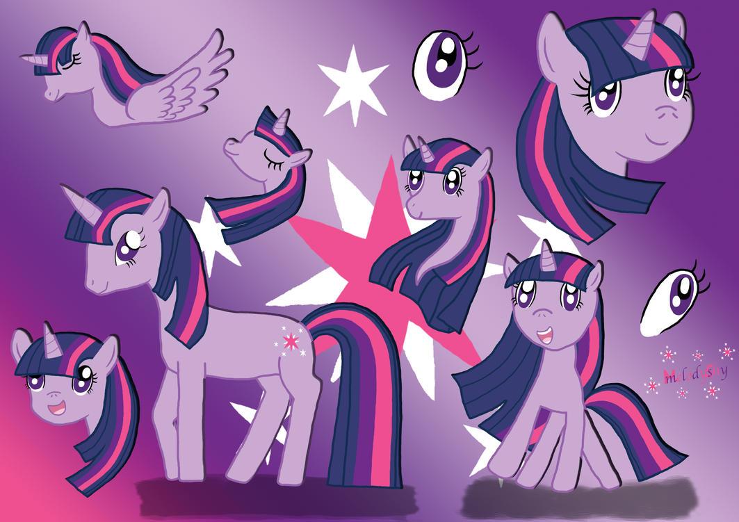 My little Pony: Twilight Sparkle by melodyshy