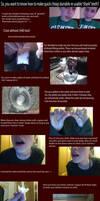 Cheap re-usable fake 'shark' teeth tutorial part 1
