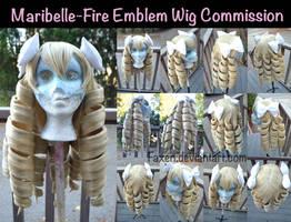 Wig Commission::Maribelle- Fire Emblem