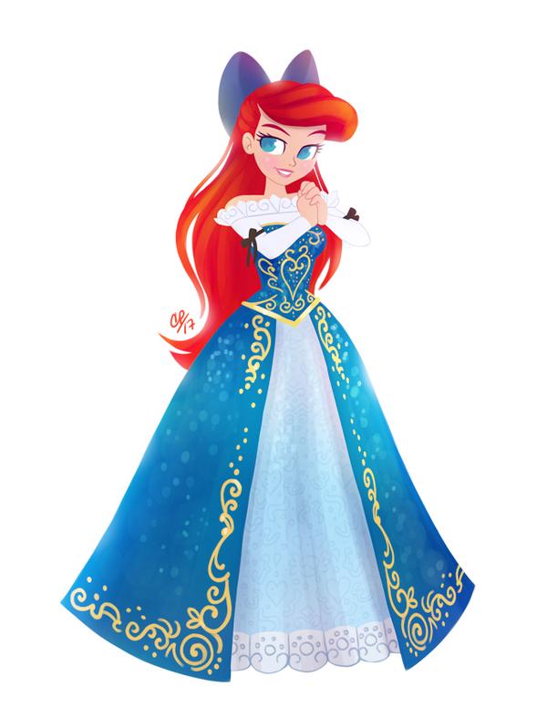Princess Ariel - The Little Mermaid by courtneymermaid