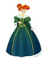 Princess Ariel - Winter Dress by courtneymermaid