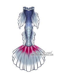 Mermaid Tail Commission 2 by courtneymermaid