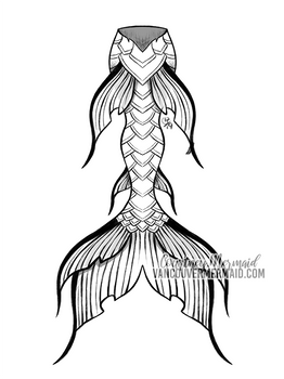 Mermaid Tail Commission 3