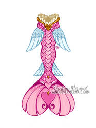 Valentine's Day Mermaid Tail
