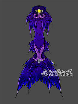 Sea Witch Mermaid Tail Design
