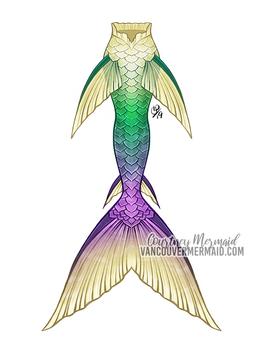 Lilly Pad Mermaid Tail