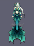 Leilani Seadragon Mermaid Adoptable by courtneymermaid