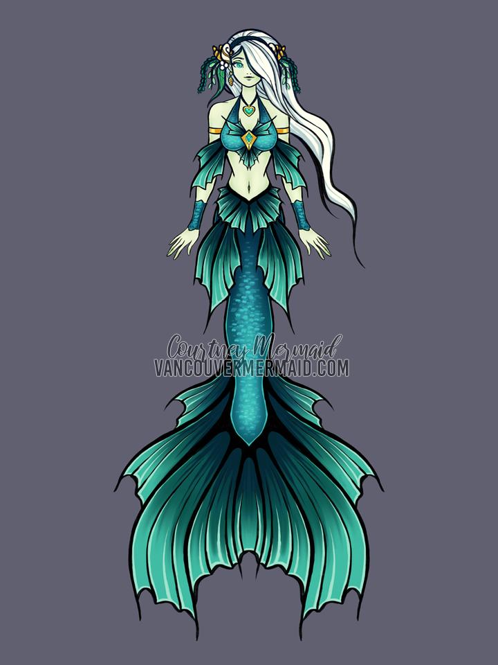 Leilani Seadragon Mermaid Adoptable by courtneymermaid