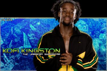 Kofi Kingston by xFireBlastx