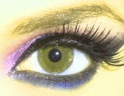 My eye Make Up by JadeTheDark-Assassin
