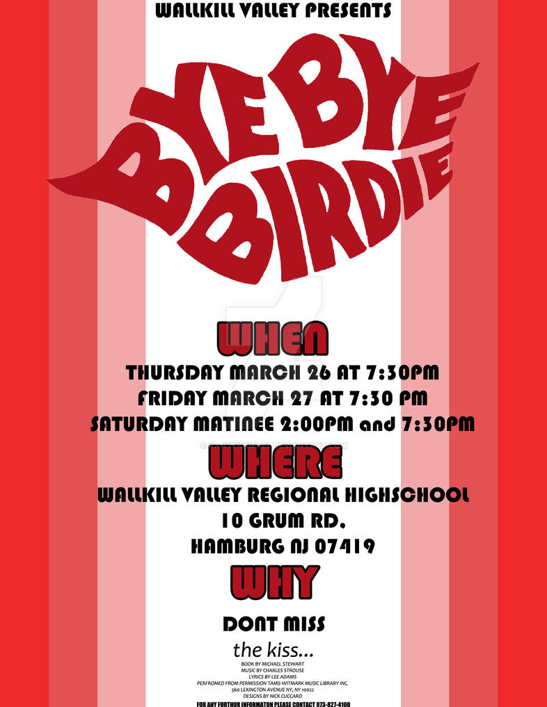 bye bye birdie play review Reviews: bye bye birdie toggle bye bye birdie which ran a most respectable 607 performances on broadway was the second musical by (from the play).