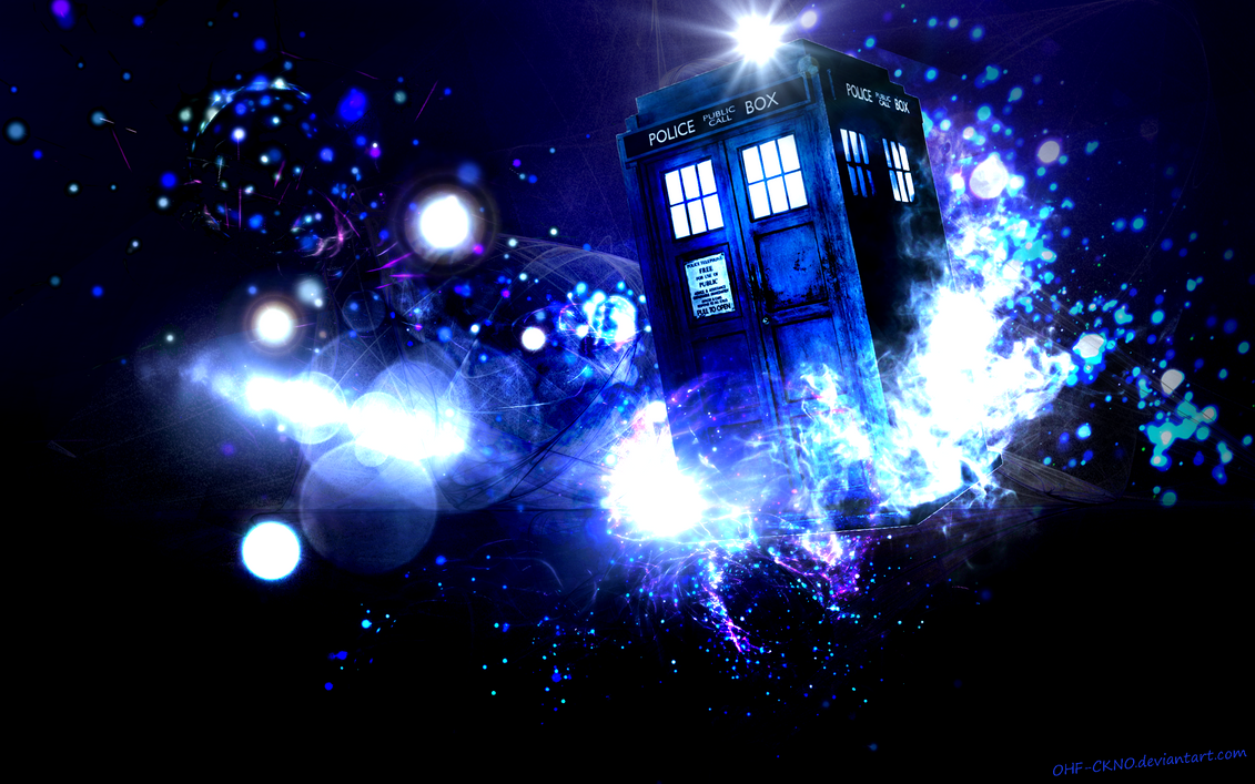 Tardis Wallpaper by OHF-CKNOTardis Art Wallpaper