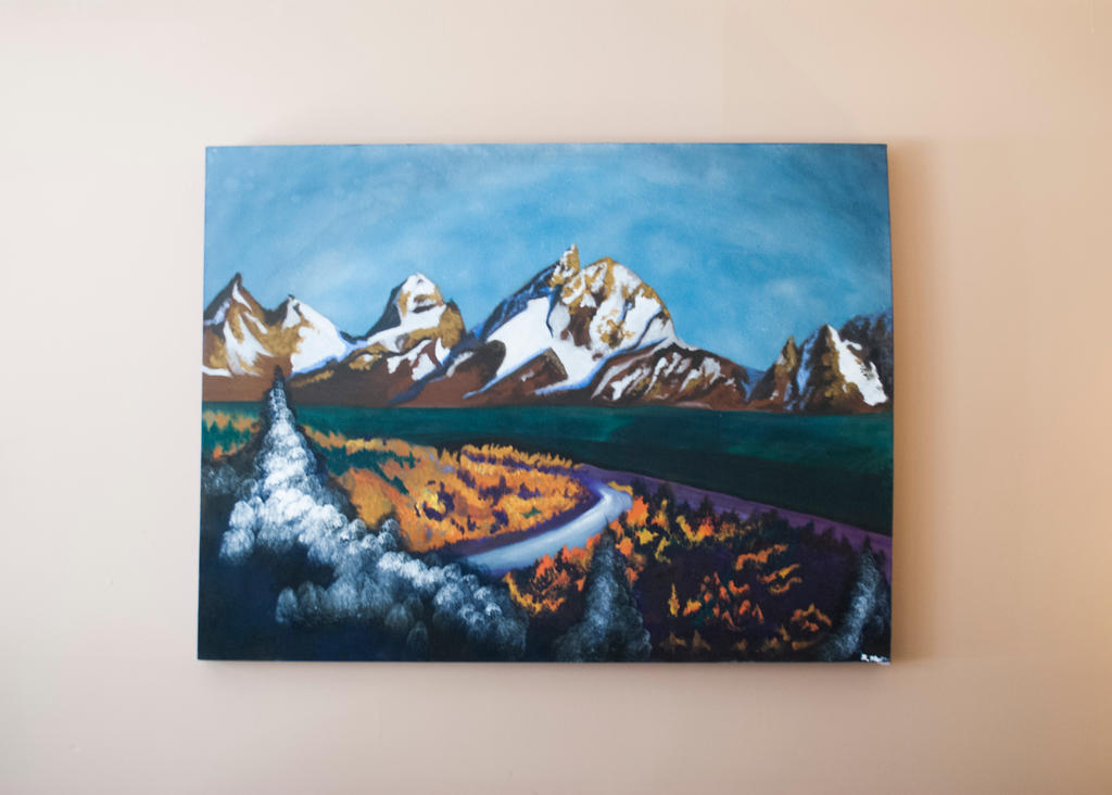 Mountainous Landscape by Ryannethelion