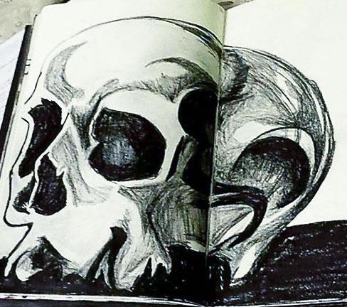 Skull by Ryannethelion