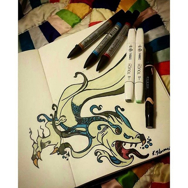 Dragon by Ryannethelion