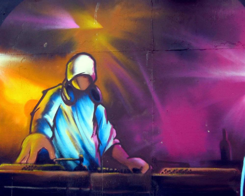 Dj Graffiti Wallpapers - klejonka