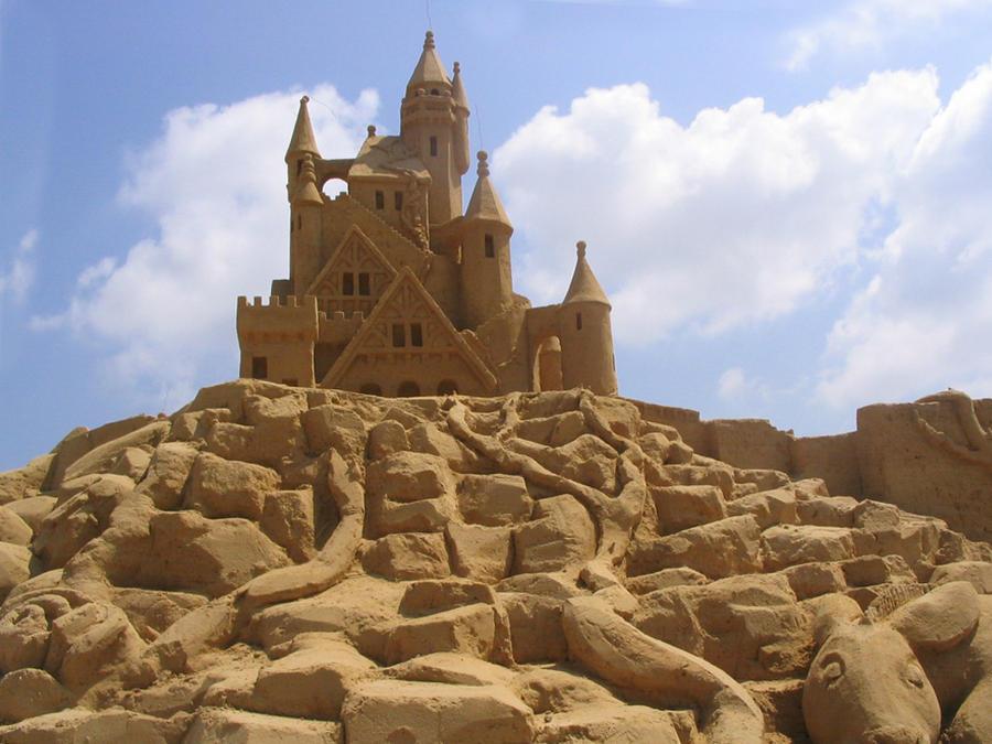 Sand Castle 3 by justrussian