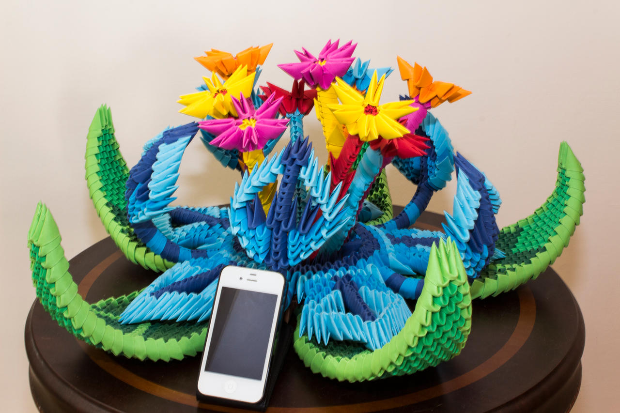 How to make 3d origami peacock |Activities for kids| Craft ... | 853x1280