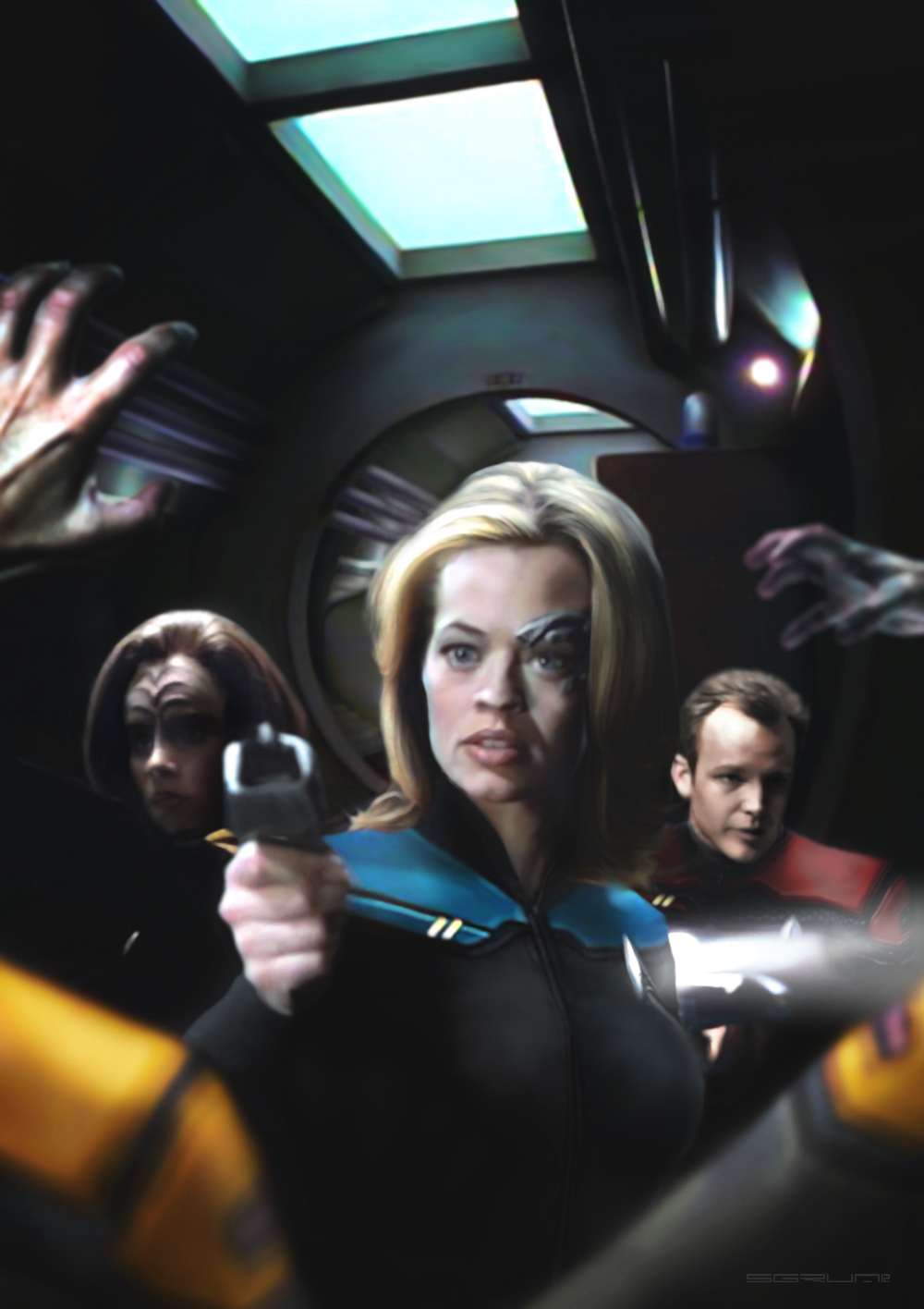 Star Trek Voyager 28 by Sgrum