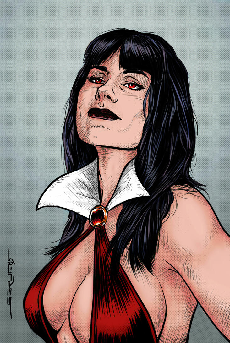 Vampirella by Sgrum
