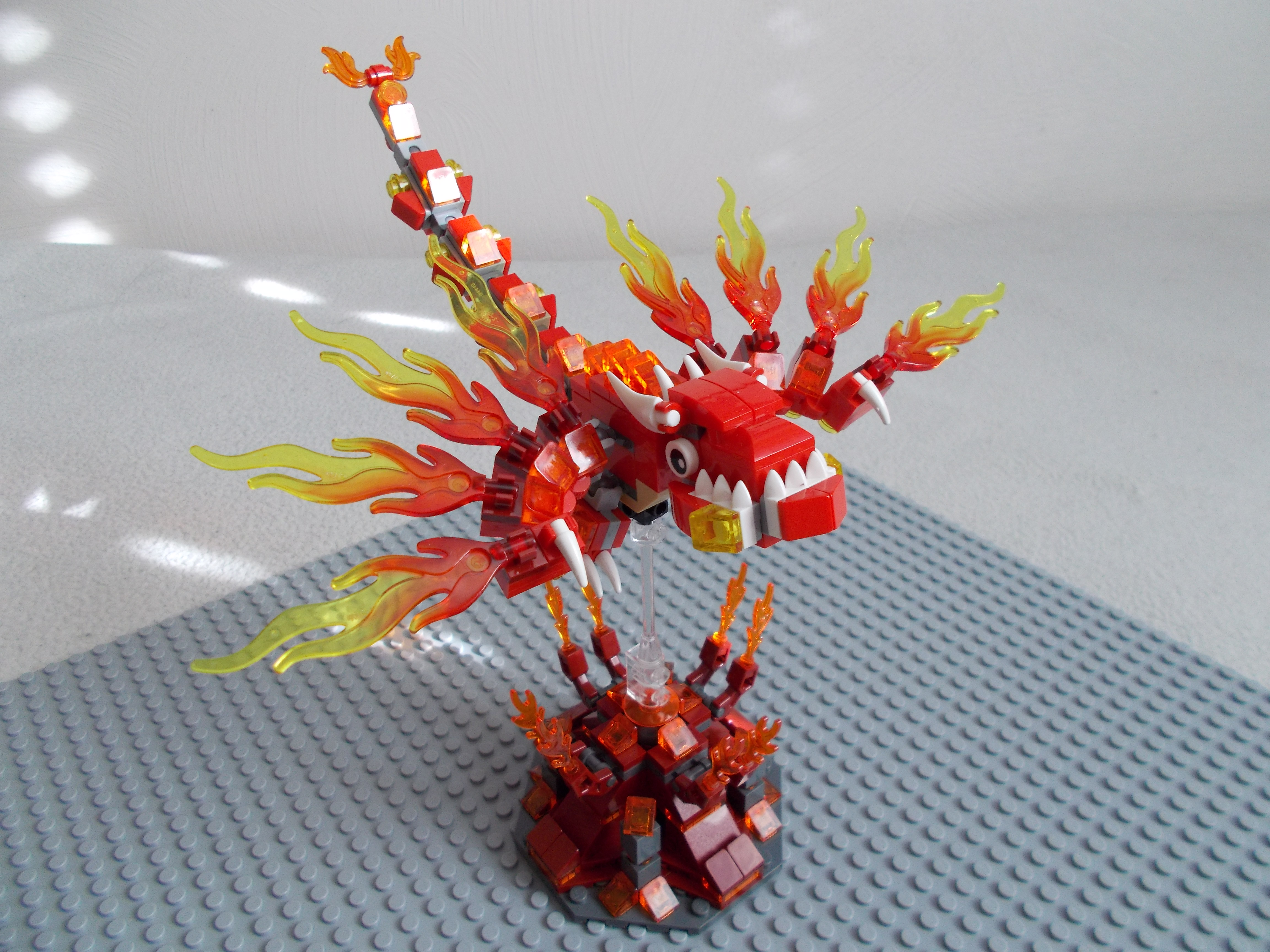 Baby Fire Dragon by DanteZX
