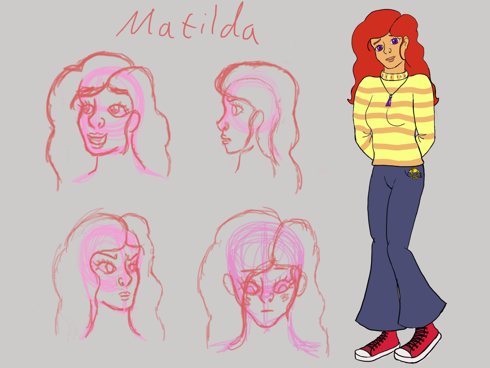 Matilda's desing by TurquoiseThought