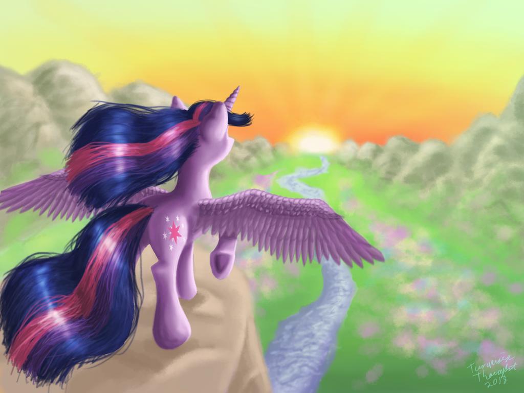 Alicorn by TurquoiseThought