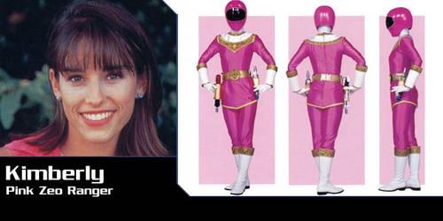 Power Rangers AU - Kimberly as Zeo Ranger 1 by Dishdude87