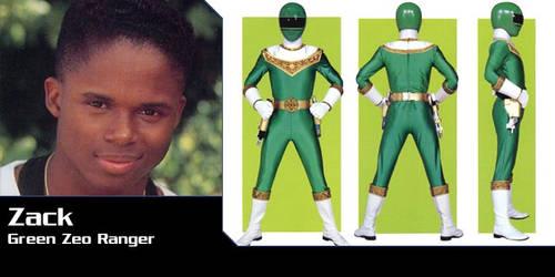 Power Rangers AU - Zack as Zeo Ranger 4 by Dishdude87
