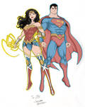 Wonder Woman And Superman Nycc Pre Show Commission