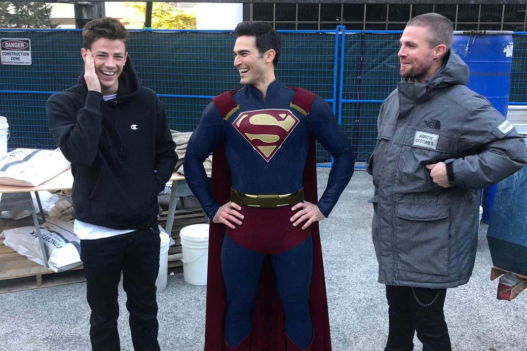 Tyler Hoechlin in a Proper Supersuit by Dishdude87