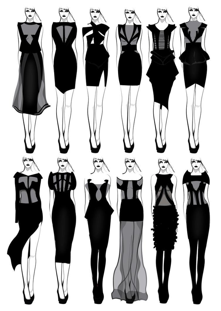 Imagine Fashion Designer Lookbook