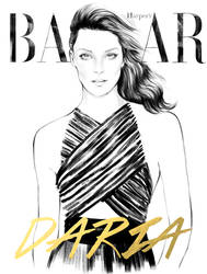 Daria for Harper's Bazaar US by Nazgrelle