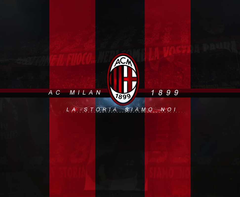 AC Milan Wallpaper V2 By NoSense Design