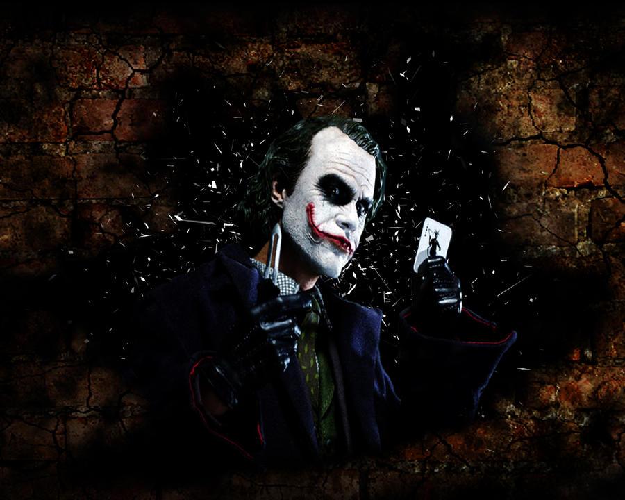 Joker Wallpaper by yuppern
