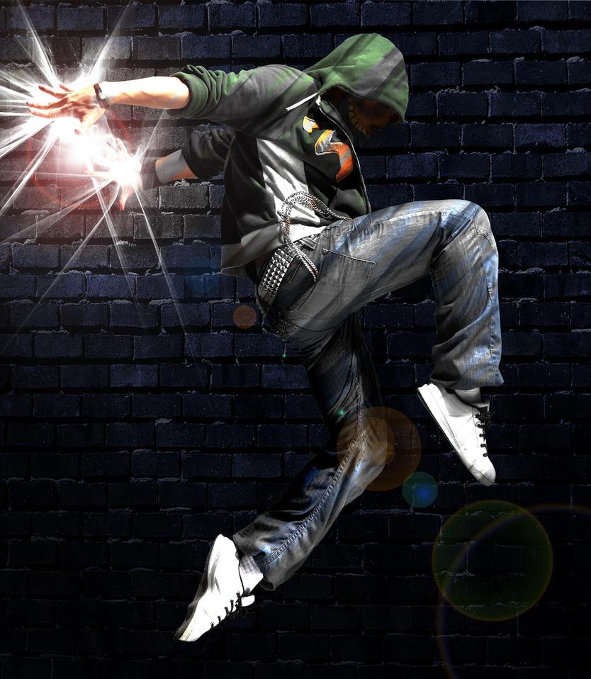 Man jumping by yuppern