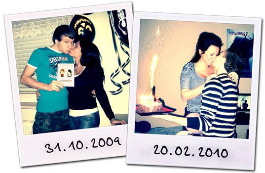 flashbacks from our birthdays