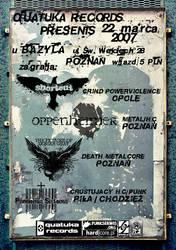 quataka gig poster