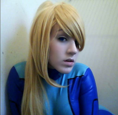 Samus Zero Suit 3 Cosplay- Metroid by sasukelove207
