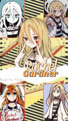 Fondo de pantalla - Rachel Gardner by Kudly-Chan
