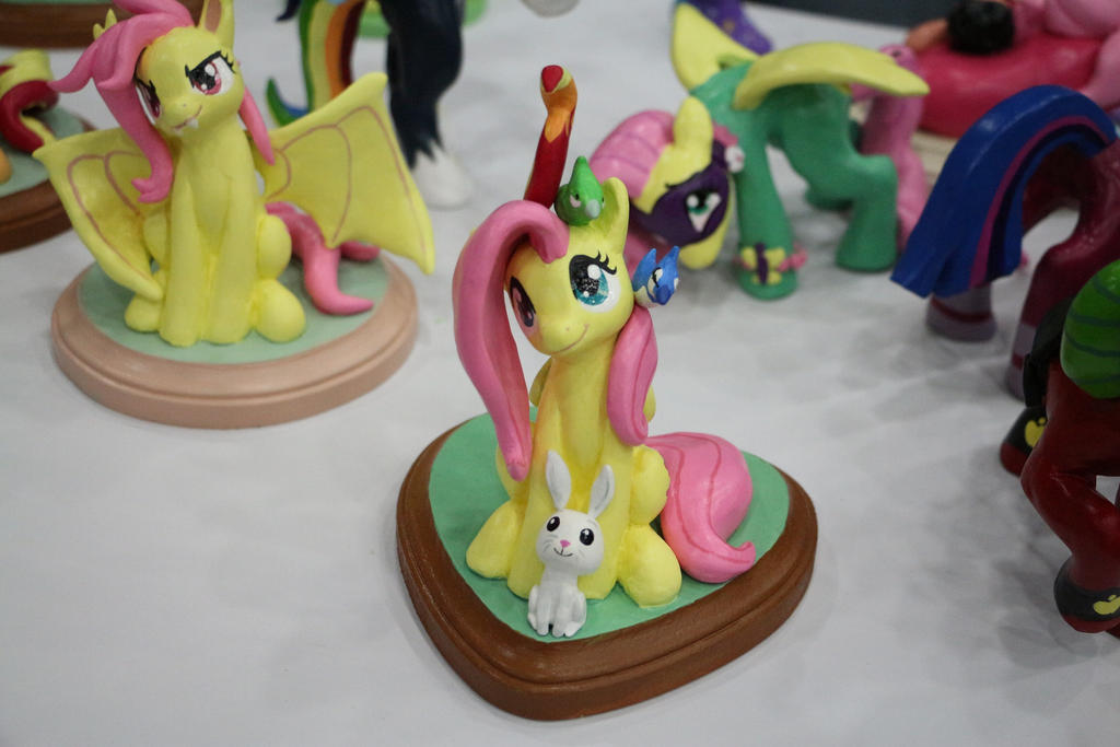BronyCon 2014 Fluttershy Figure by GmanCommand