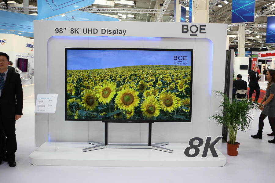 Cebit 2015 Hannover, Germany 8K TV by GmanCommand